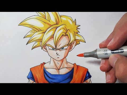 How To Draw Kid Goku Step By Step Easy