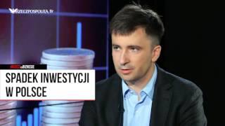#RZECZoBIZNESIE: Andrzej Rzońca o spadku inwestycji w Polsce