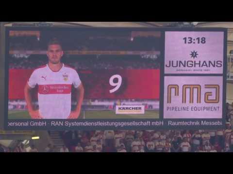 VFB vs. KSC - Mannschaftsaufstellung VFB (2017 live @ Mercedes-Benz Arena - Stuttgart)