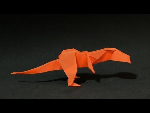 Origami Dinosaur T Rex