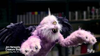 Jim Henson's Creature Shop Challenge Syfy Season 1 Trailer