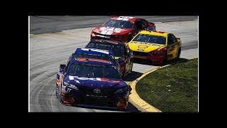 Hamlin accuses Harvick of brake-testing in NASCAR Martinsville race