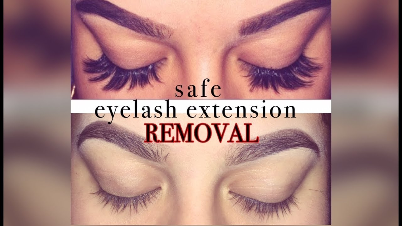 Properly Removing Extensions Without Ripping Real Lashes Out