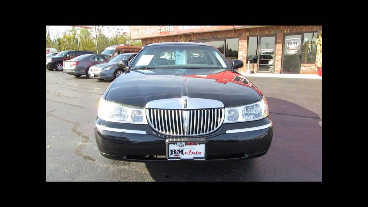 2002 Lincoln Town Car Cartier Youtube