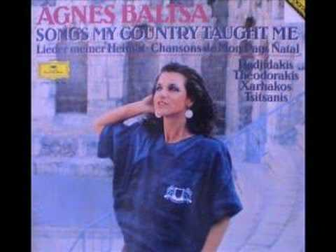 Agnès Baltsa - Mikis Theodorakis - 1985