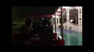 志摩スペイン村 夜のフェスタトレインで周遊