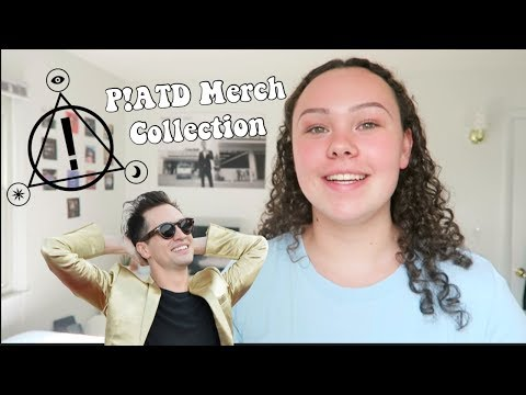 panic! at the disco merch collection