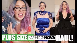 OK FASHION NOVA! Let's DO THIS! Valentines day PLUS SIZE HAUL!!!  Fashion Nova Curve!