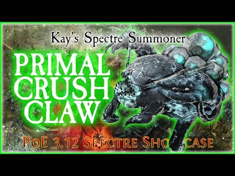 PoE 3.12 - Primal Crushclaw (Crabbie) Spectre Showcase