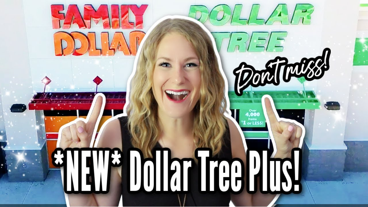 DOLLAR TREE PLUS IS HERE! 😱 What it's really all about + my 100% honest, not sponsored review!