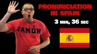 spanish pronunciation in spain