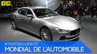 Maserati Ghibli restyling 2017 | PARIGI 2016 [ENGLISH SUB]