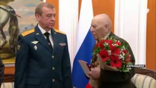 За вклад Азербайджана в победу над фашизмом