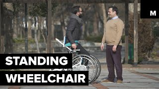 Shapeshifting Wheelchair Helps Users Move in a Standing Position