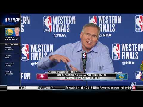 Coach Mike D'Antoni | Western Conference Finals Game 3 Press Conference