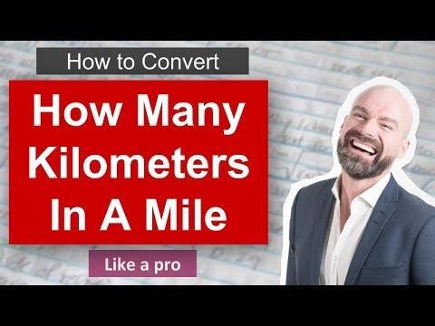 How Many Kilometers In A Mile