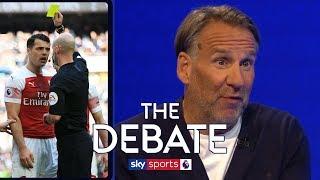 Is Granit Xhaka's discipline causing Arsenal issues? | Paul Merson & Gary Rowett | The Debate