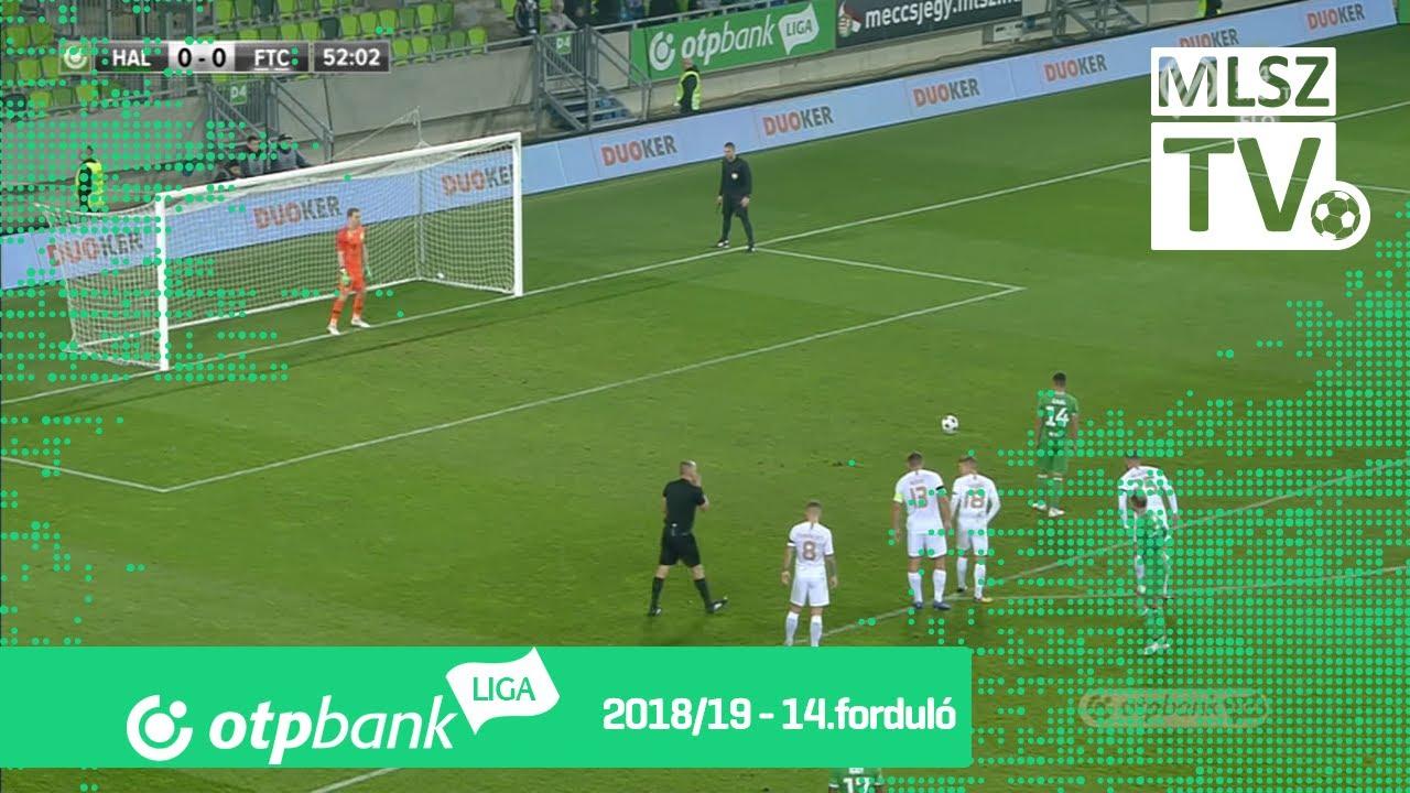 Gaál Bálint gólja a Szombathelyi Haladás - Ferencvárosi TC mérkőzésen