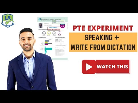 PTE Speaking Experiment | New Secret Strategies | Language Academy PTE NAATI and IELTS Experts
