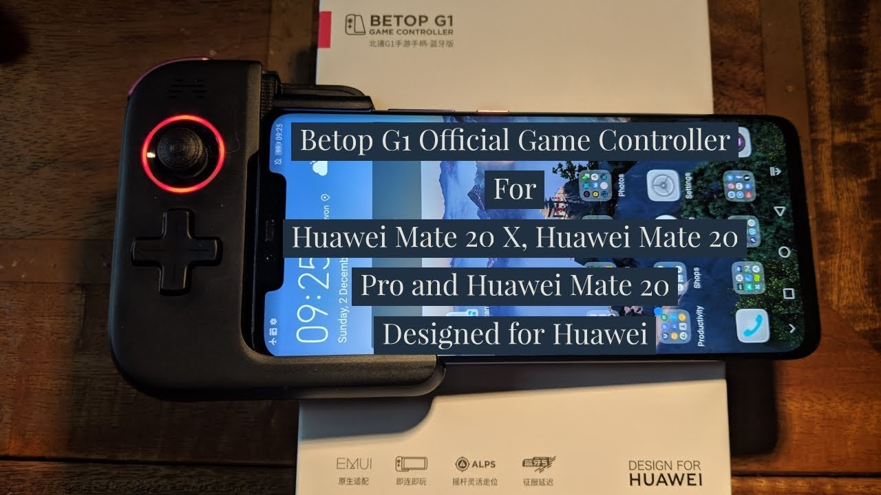 Betop G1 Official Game Controller for Huawei Mate 20 X, Mate 20 Pro & Mate  20 First Impressions