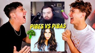 ¡LAS PIBAS vs LOS PIBES! INTENTA NO REIR CHALLENGE **imposible no reír**