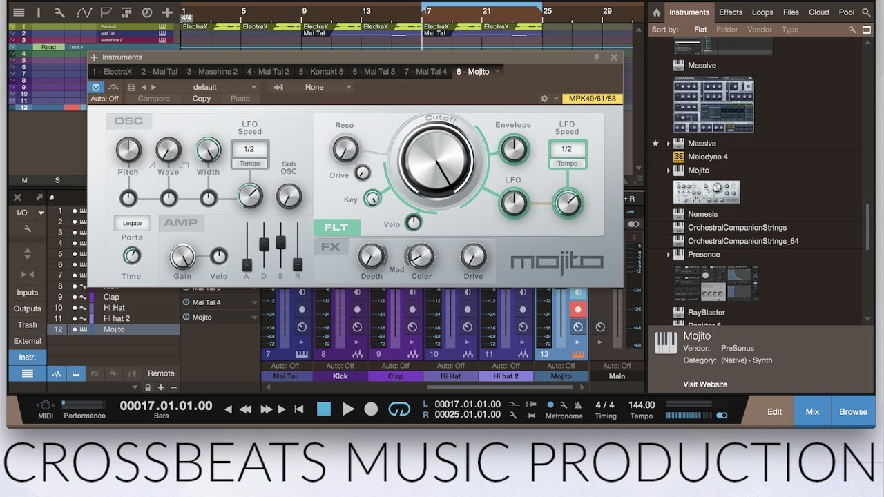 Behind The Beat - Part 1 - Making A Hip Hop Beat - Studio One 3