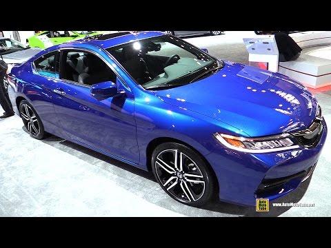2017 Honda Accord Coupe Touring V6 - Exterior and Interior Walkaround - 2017 NY Auto Show