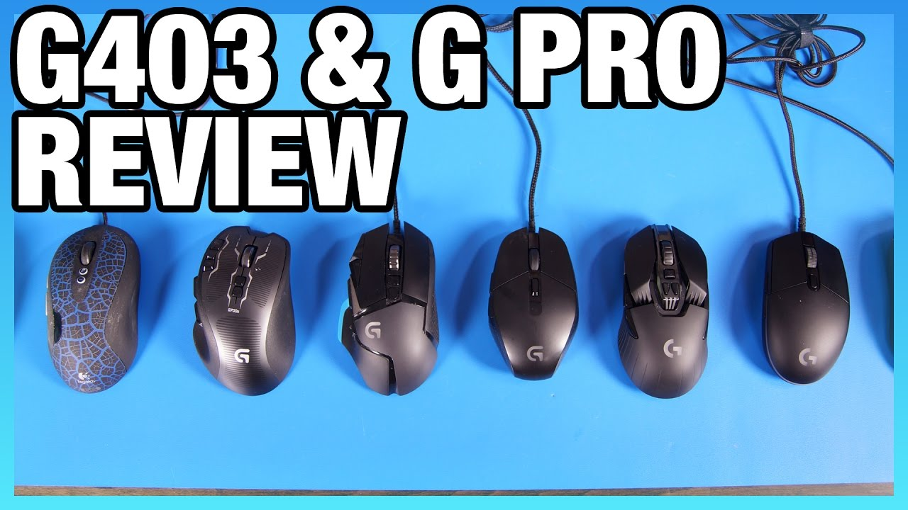 b7e8a60b38b Logitech G403 & G Pro Review - YouTube