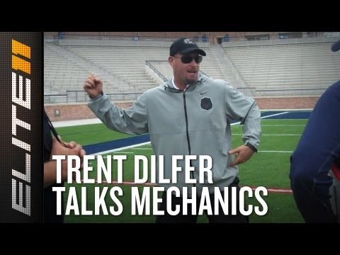 2013 Elite 11: Trent Dilfer Coaching Quarterback Mechanics
