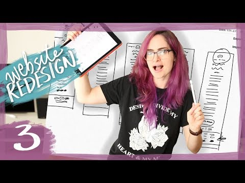 Blog design wireframe! | Episode 3 of Designing a Website