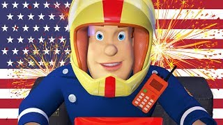 Fireman Sam US full Episodes | FIREWORKS! | 4th July Edition 🎉Safety Collection | Kids Movie