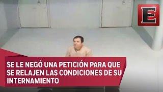 """Así vive Joaquín """"El Chapo"""" Guzmán en prisión"""