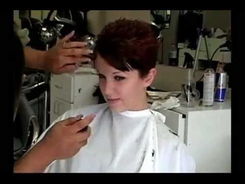 how to cut and style short hair hair cut 7113 | hqdefault