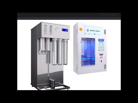 Система фильтрации в автомате воды