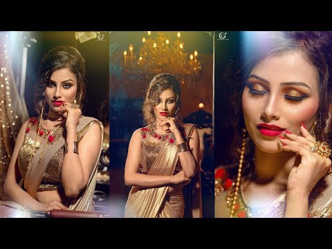 Indian Glam Party Makeover | Makeup Artist Jyoti Shaw | Photographer LOukik Das |