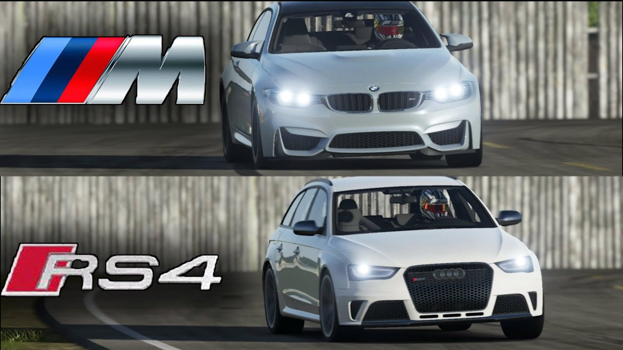 TOP GEAR BMW M Vs Audi RS On The TRACK YouTube - Audi vs bmw