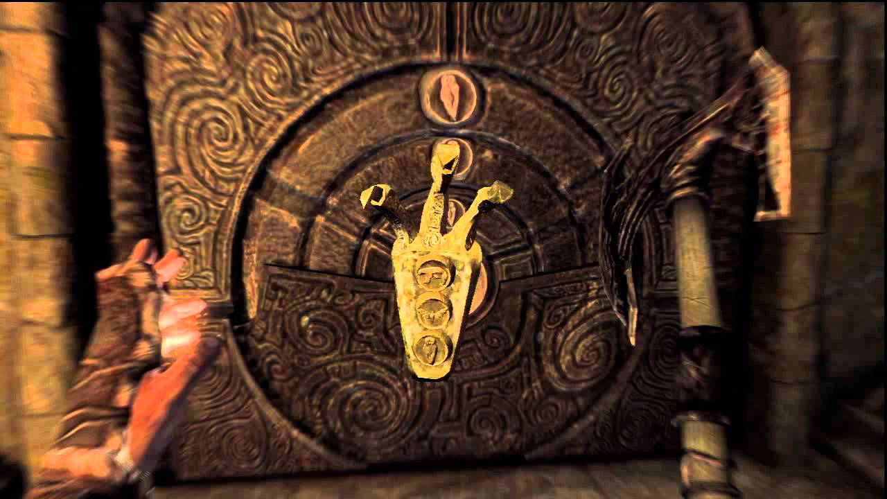 How To Unlock The Door With The Golden Claw Key On Skyrim Youtube