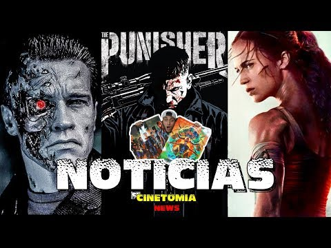 ¡CONCURSO!, TERMINATOR, Tomb Raider, PUNISHER, Capitana Marvel, AKIRA, Man of Steel 2 y más