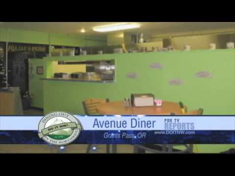 Dining Out in the Northwest: Avenue Diner - Grants Pass, Oregon
