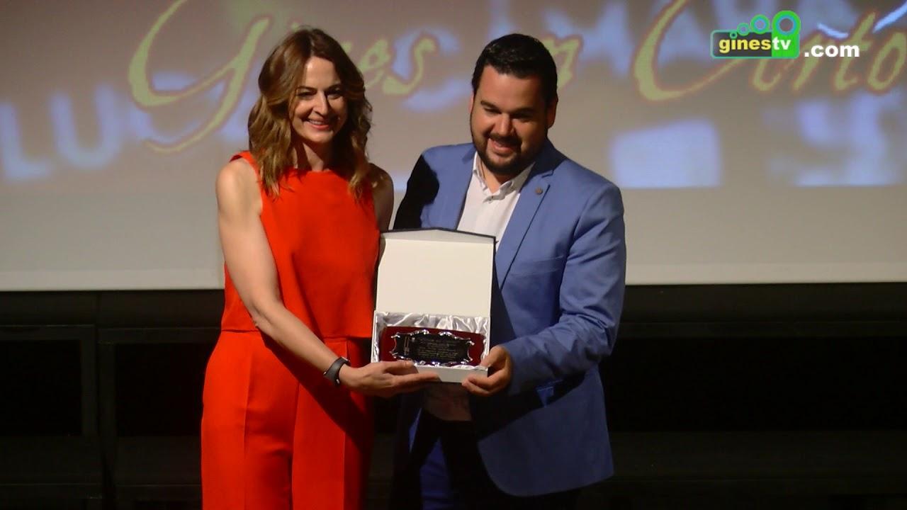 'Gines en Corto' concluye con la entrega de premios y el homenaje a Cuca Escribano y Alfonso Lara