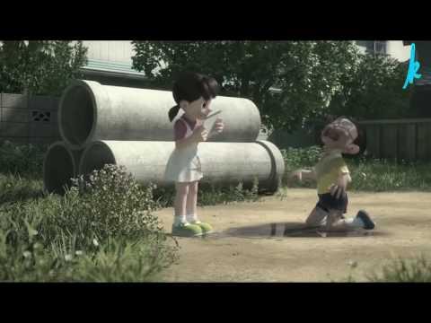 Nobita & shizuka |Barish song | love romantic 😊😘