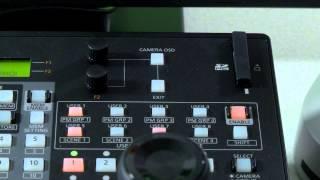 Panasonic AW-RP120 Remote-PTZ-Kamera-System-Controller mit IP-und Serieller Konnektivität