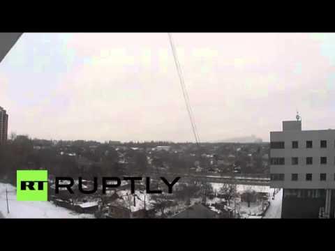 Ukraine  Kiev shelling devastates Donetsk to the sound of church bells