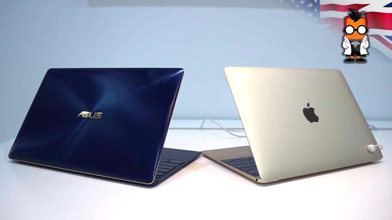 Asus Zenbook 3 Vs Apple Macbook Detailed Comparison Youtube