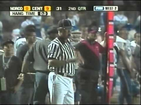 Centennial vs Norco Fox Game of The Week 2004