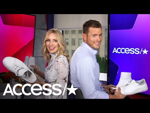 'The Bachelor's' Colton Underwood & Cassie Randolph Reveal All In A Round Of The Shoe Game!