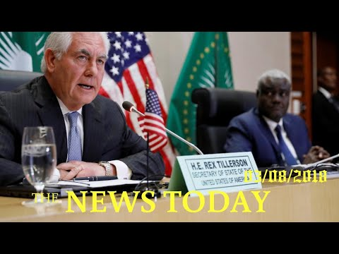 Tillerson Says African Countries Should Weigh Chinese Loans Carefully | News Today | 03/08/2018...
