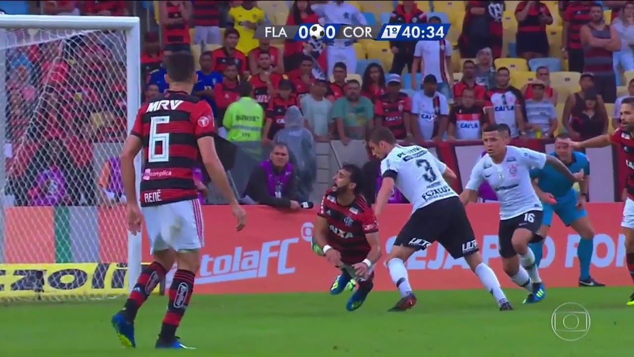 Flamengo 1 x 0 Corinthians Melhores Momentos Brasileirão ...