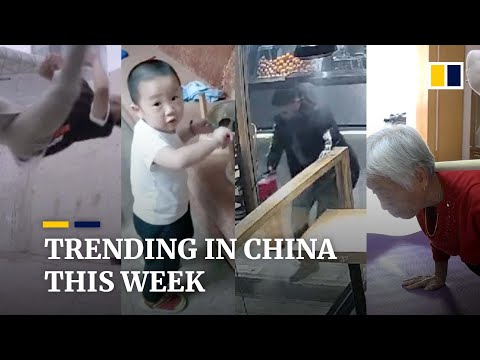 Trending in China: Man's incredible tricking skills go viral online