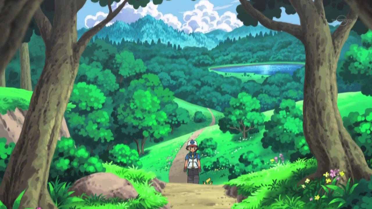 Pokemon Best Wishes Anime BGM Route 1 YouTube